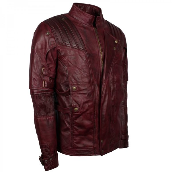 guardians of the galaxy costume star lord jacket. Shop the star lord cosplay of Guardians of the Galaxy leather jacket