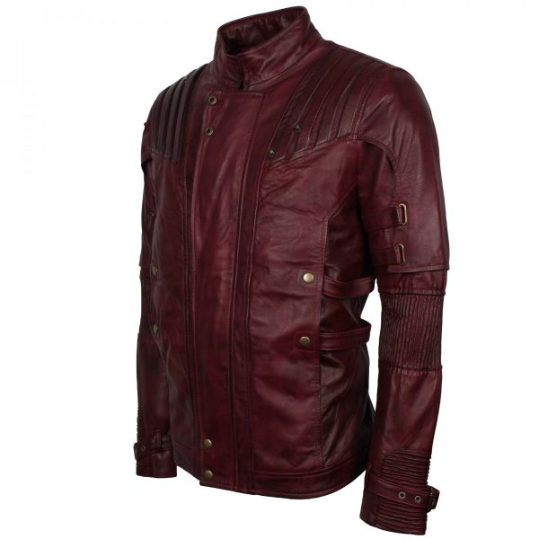 guardians of the galaxy costume star lord leather jacket Free Shipping UK USA Australia Europe Halloween Sale