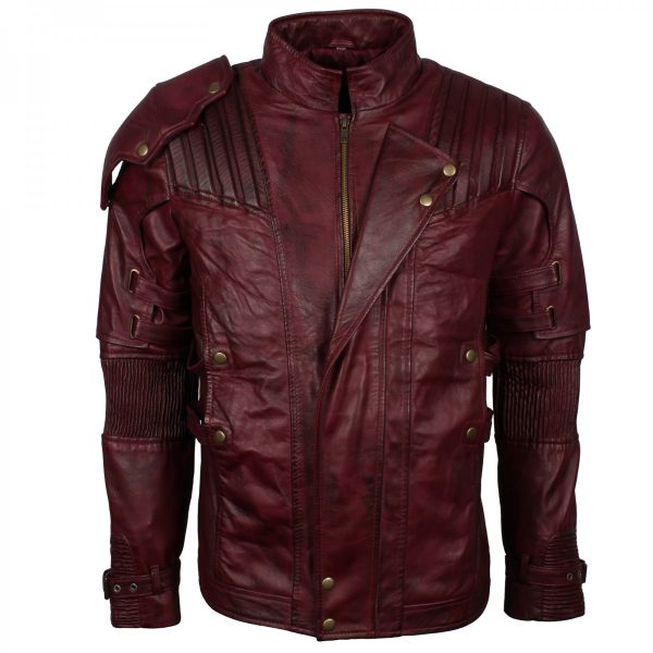 guardians of the galaxy costume star lord leather jacket. Shop the Guardians of the galaxy Jacket