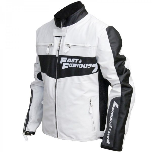 Fast and the Furious 7 Inspired Vin Diesel Leather Jacket