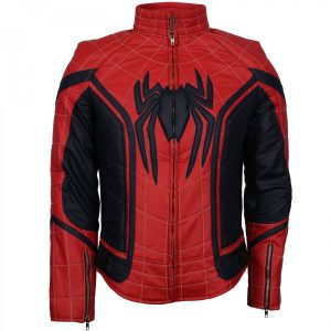 Peter Parker Spider Man Homecoming Costume Spiderman Jacket